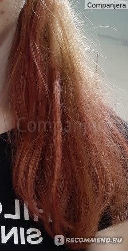 После 5 промывок шампунем - объективный цвет
