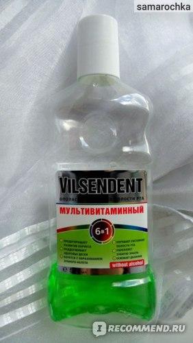 Ополаскиватель для полости рта Vilsendent Мультивитаминый 6 в 1 фото