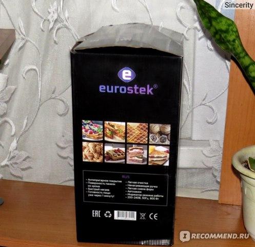 Многофункциональное устройство для выпечки 3 в 1 Eurostek EWM-815 фото