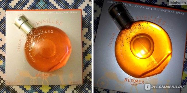 Hermes Elixir des Merveilles Hermes фото