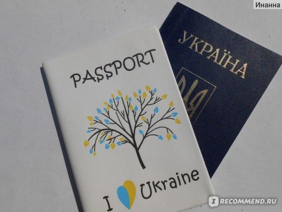 Обложка для паспорта ZIZ  фото