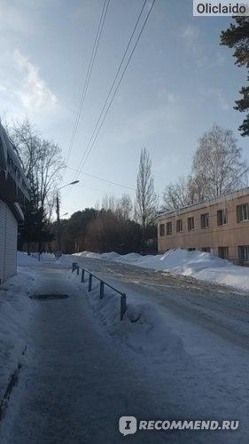 Вид на главную дорогу