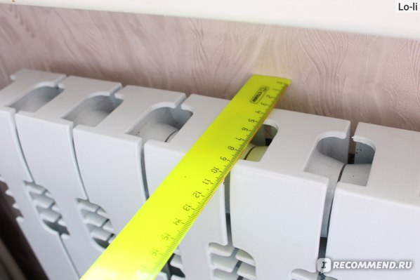 Радиатор отопления Sti Нова 500 чугунный двухканальный  фото
