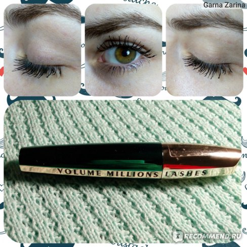 Тушь для ресниц L'Oreal Paris VOLUME MILLIONS LASHES FELINE фото