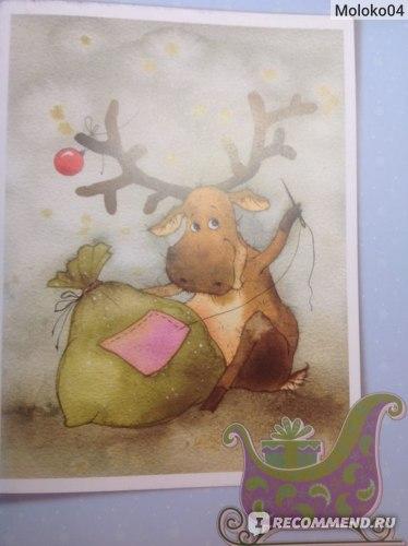 Чудеса под Новый год. Иллюстратор Виктория Кирдий  фото