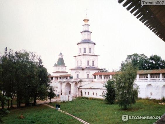 Территория монастыря 20 лет назад