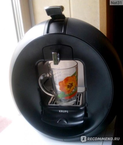 капсульная кофемашина Dolce Gusto Krups