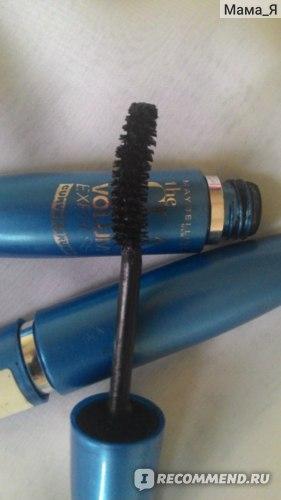 Тушь для ресниц MAYBELLINE Volume Express Curved Brush фото