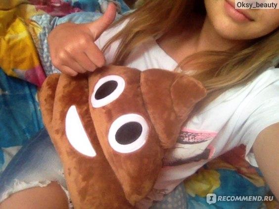 Мягкая игрушка Aliexpress Modern 23*20cm Mini Cute Emoji Emoticon Cushion Poo Shape Pillows Doll Toy Throw Pillow Sofas decorative Decor Aug17 фото