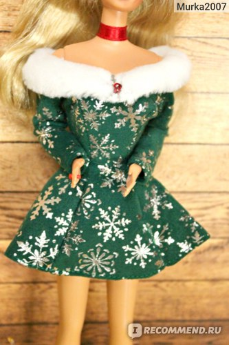 Кукла Barbie Festive Season 1998 фото