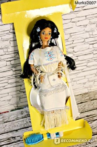 Barbie Mattel Doll of The World (Куклы мира). Native American 1992