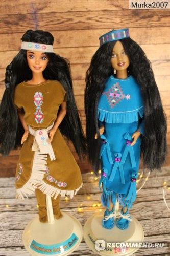 Barbie American Indian. 1995 и 1997