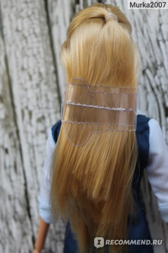 Крепеж волос