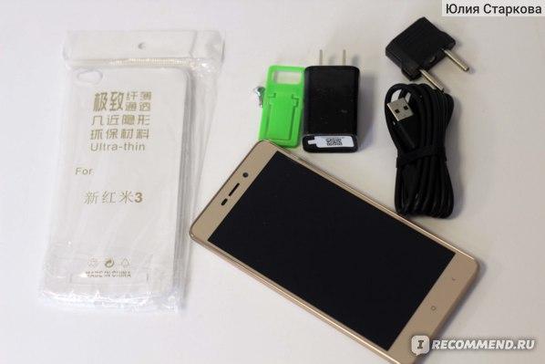 Мобильный телефон Xiaomi Redmi 3 фото