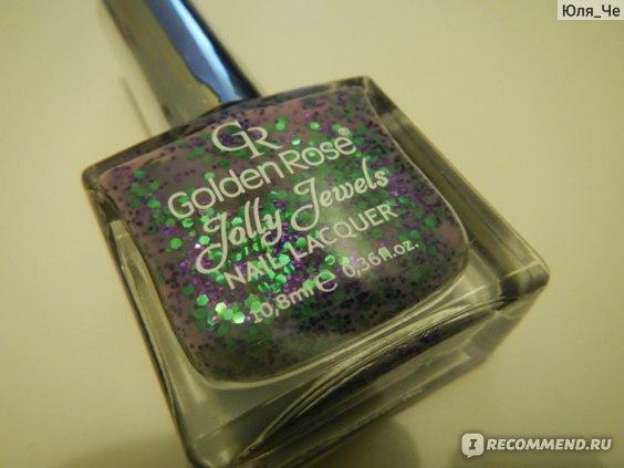 Профессиональный лак для ногтей Golden Rose Jolly Jewels фото