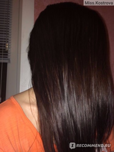 волосы сразу после мытья