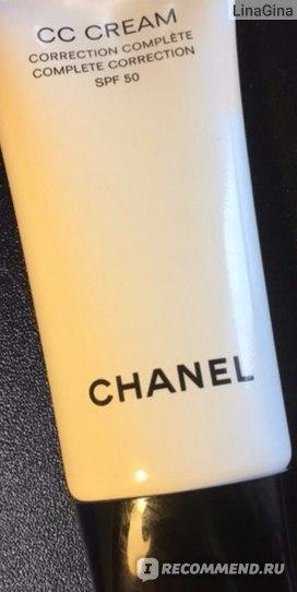 CC Cream Chanel Complete Correction  фото