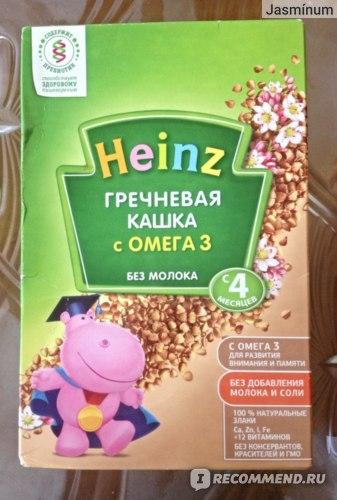 Каша Heinz Гречневая кашка с Омегой-3  фото