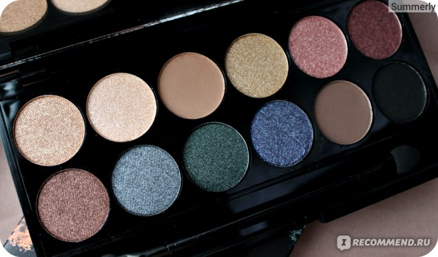 Палетка теней Sleek MakeUp Storm Palette фото