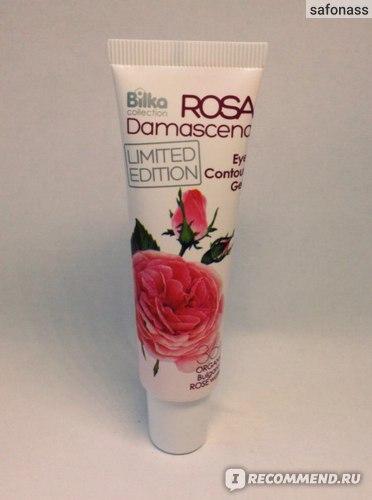 Гель для кожи вокруг глаз Bilka  Rosa Damascena фото