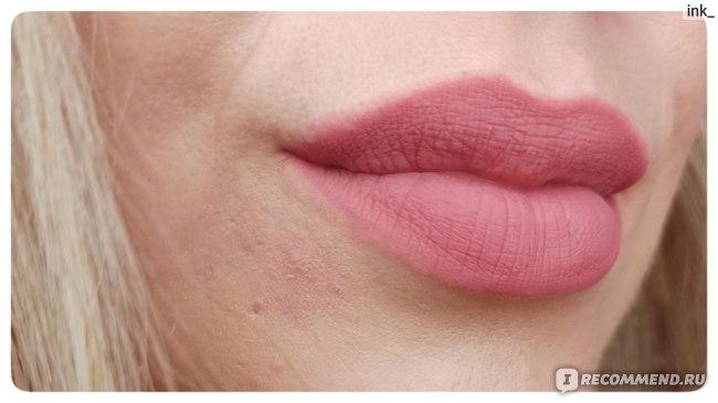 Карандаш для губ LUXVISAGE PIN UP ultra matt фото