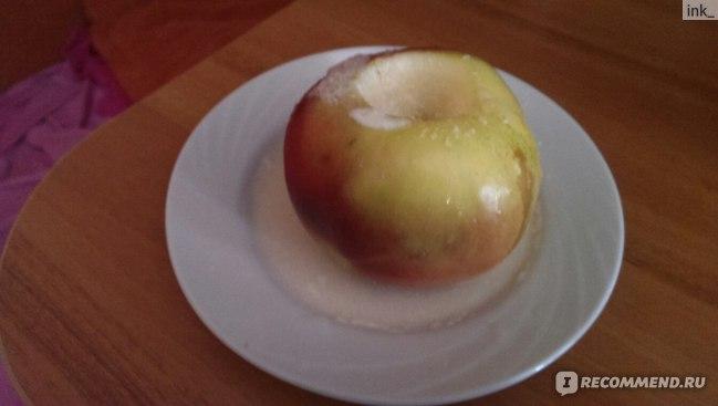Диета на печеных яблоках и