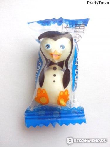 """Шоколадные конфеты Лаконд """"Лапа-туки"""" в темной и белой глазури с ореховым и кокосовым вкусом фото"""