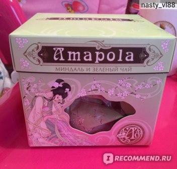 Набор конфет Amapola Миндаль и зеленый чай фото
