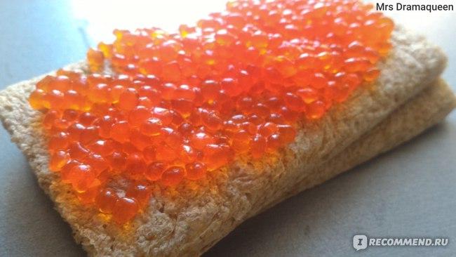 """Продукт из водорослей со вкусом лососевой икры Европром """"Икра Сказка"""" фото"""