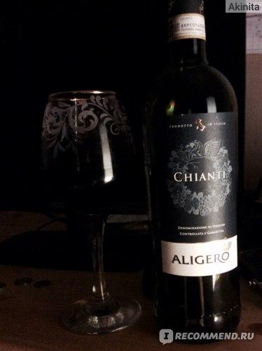 Вино Chianti  ALIGERO prodotto in Italia фото