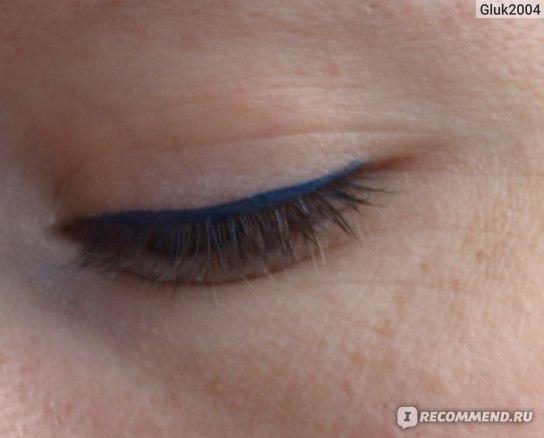 Подводка-фломастер для глаз LUXVISAGE Perfect Color фото