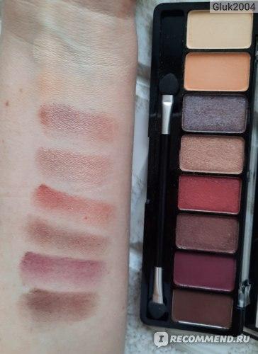 Палетка теней для век Eveline Eyeshadow Professional Palette фото