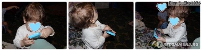 Fix Price Игрушечный мобильный телефон со звуковым эффектом фото