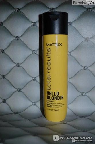 Шампунь MATRIX Hello Blondie  фото