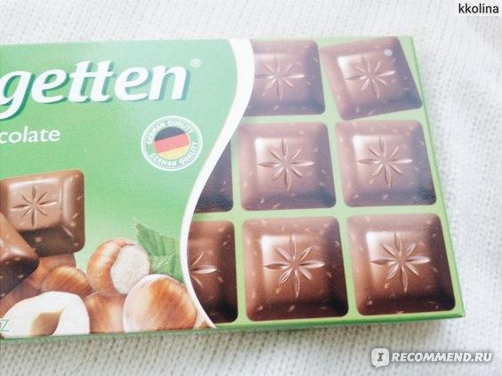 Молочный шоколад Schogetten Alpine Milk with Hazelnuts с лесными орехами фото