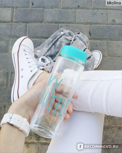 Converse All Star и My Bottle.