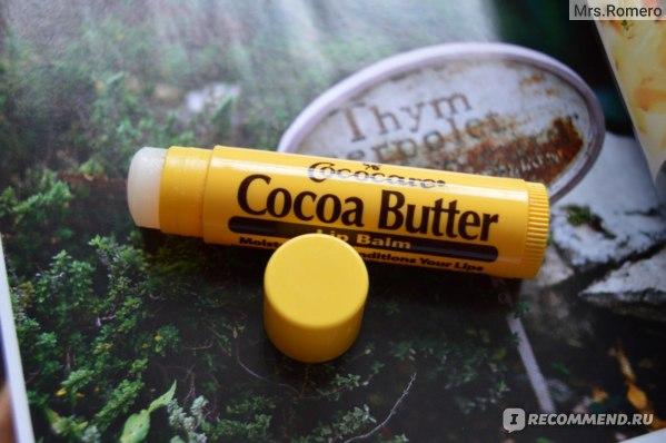 Бальзам для губ Cococare Cocoa Butter Lip Balm фото