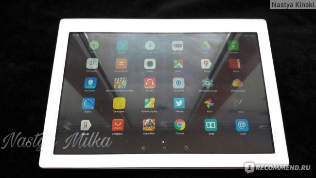 Широкоформатный дисплей планшета Lenovo Tab2 A10-70L
