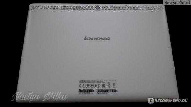 Обратная сторона планшета Lenovo Tab2 A10-70L