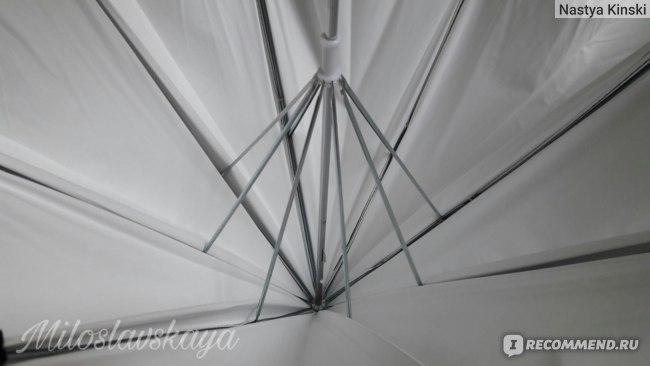"""Зонт-отражатель Aliexpress 33 """"83 cm Black / White Photo Studio Umbrella Rubber and Stainless Steel Cloth Photography Reflective Umbrella фото"""