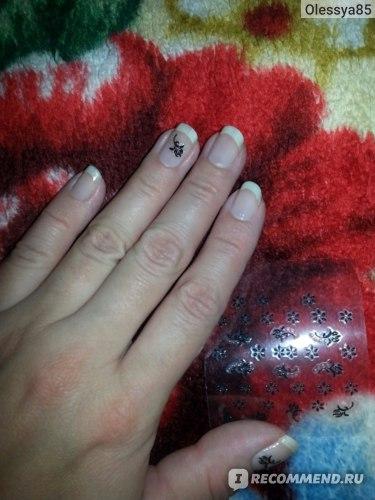 Наклейки на ногти «My Nails» Infinum фото