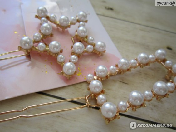 Заколка для волос Fix Price Petite pearl фото