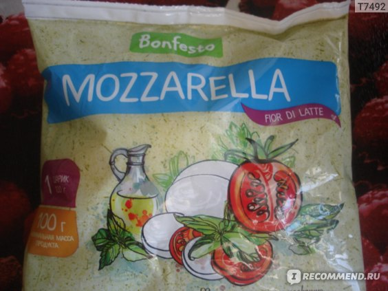 Сыр Bonfesto Моцарелла Fior di Latte фото