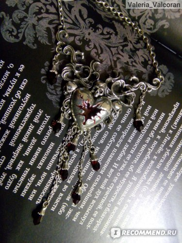 Колье Alchemy Gothic Bleeding Heart Necklace P550 фото