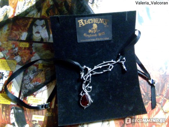 Колье Alchemy Gothic Passion Necklace P530 фото