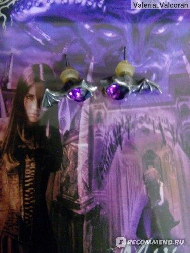 Серьги - гвоздики Alchemy Gothic Matins Studs E252 фото