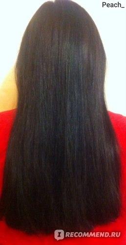 Волосы после использования маски