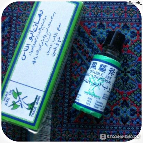 Обезболивающий бальзам TAI YAN Double Axe Oil