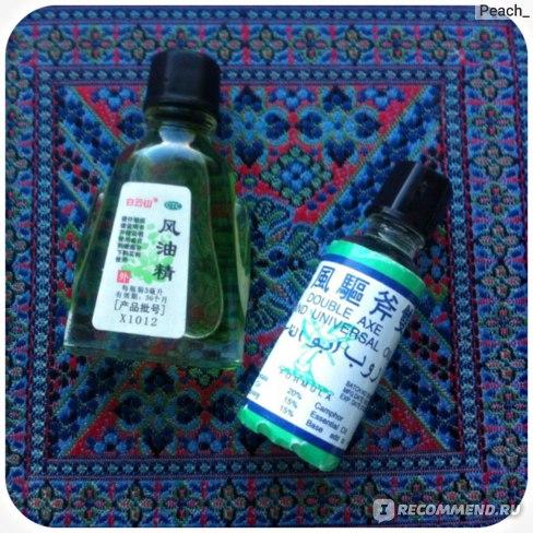 Обезболивающее средство TAI YAN Double Axe Oil фото