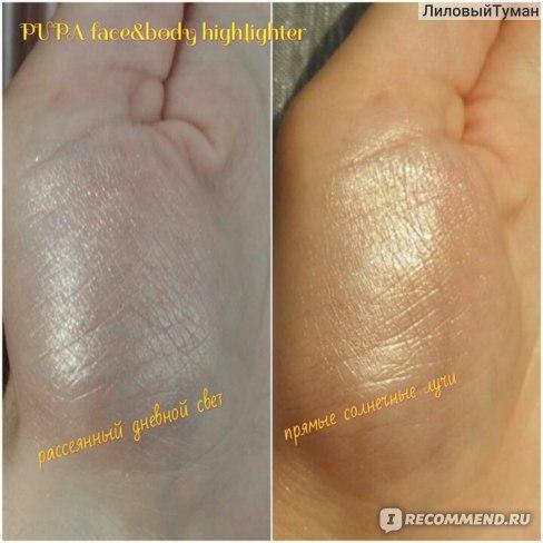 Хайлайтер Pupa BRONZE Fever Face&Body Highlighter фото